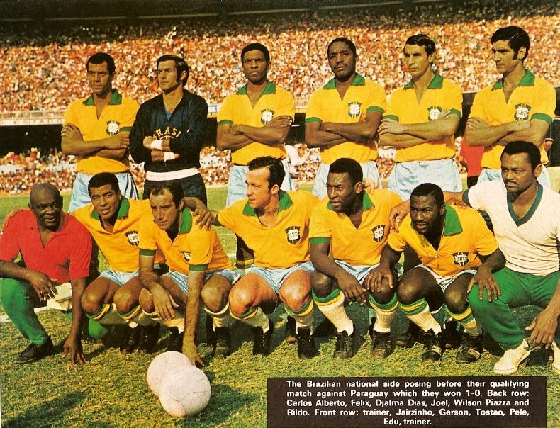Resultado de imagem para seleção brasileira 1970