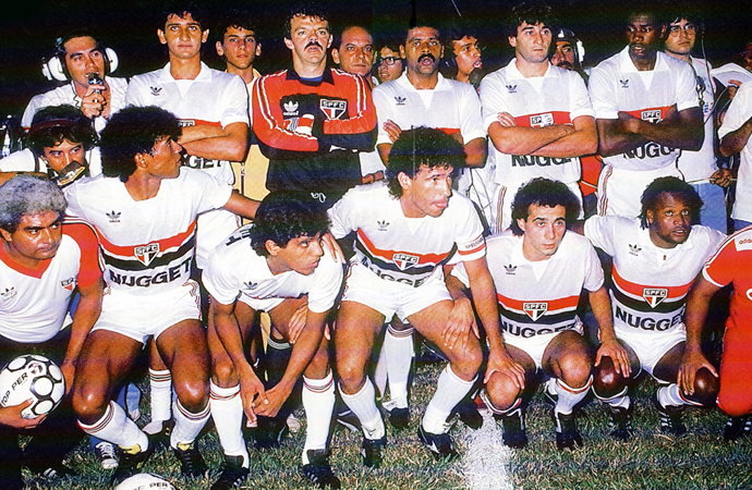 Resultado de imagem para São Paulo campeão brasileiro de 1986