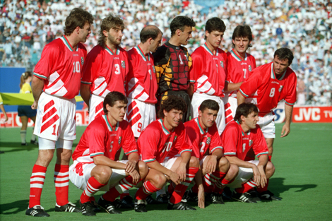 Soccer - World Cup 94 - Argentina v Bulgaria