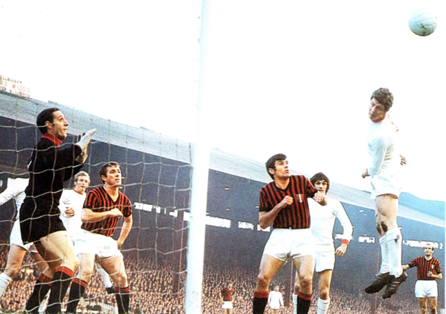 Manchester United Vs AC Milan, 1969
