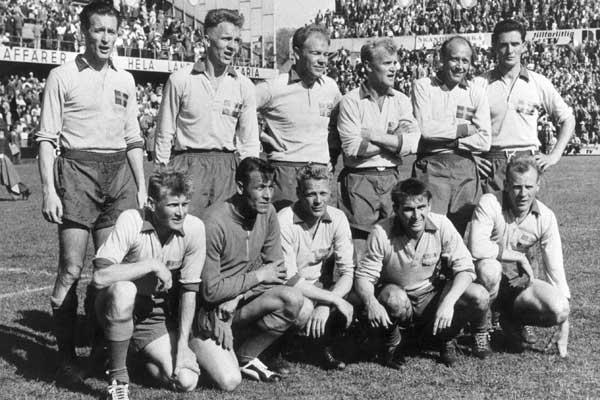 Resultado de imagem para seleção sueca 1958