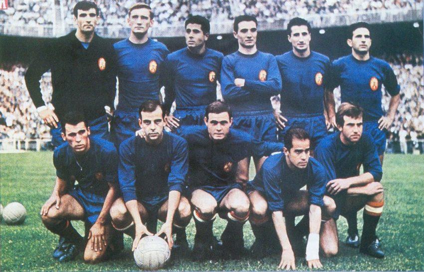 Seleções Imortais - Espanha 1964 - Imortais do Futebol