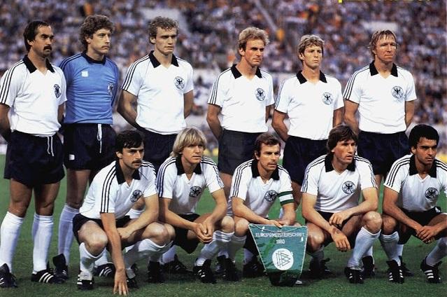 Seleção da Alemanha campeã da Eurocopa de 1980